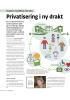 Privatisering i ny drakt
