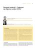 Samme kontroll - fusjoner og fisjoner under IFRS