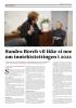 Sandra Borch vil ikke si noe om inntektstettingen i 2022