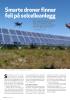 Smarte droner finner feil på solcelleanlegg