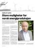 Statkraft-sjefen: Store muligheter for norsk energiproduksjon