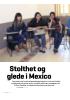 Stolthet og glede i Mexico