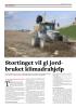 Stortinget vil gi jordbruket klimadrahjelp