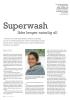Superwash Ikke lenger naturlig ull