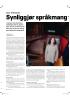 Synliggjør språkmang gf foldet i Oslo