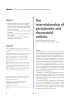 The interrelationship of periodontitis and rheumatoid arthritis
