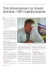 Tom Johannessen ny hoveddommer i NM i kjøttprodukter
