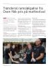 Trøndersk ramsløkpølse fra Osen fikk pris på matfestival