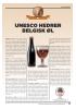 UNESCO HEDRER BELGISK ØL
