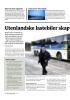 Utenlandske lastebiler skap er frykt i Nord-Norge