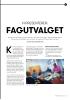 VI PRESENTERER: FAGUTVALGET