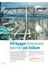 Vil bygge bioetanolfabrikk på Follum