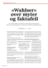 «Wahlser» over myter og faktafeil