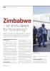 Zimbabwe - et vindu åpent for forandring?