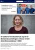 18 søkere for Buskerud og 13 til Østlandssendingen: Disse vil bli distriktsredaktør i NRK