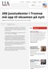 200 jusstudenter i Tromsø må opp til eksamen på nytt