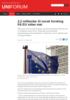 2,2 milliardar til norsk forsking frå EU sidan mai