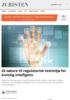 25 søkere til regulatorisk testmiljø for kunstig intelligens