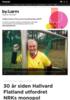 30 år siden Hallvard Flatland utfordret NRKs monopol