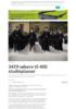 3459 søkere til 400 studieplasser