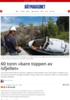 60 tonn «bare toppen av isfjellet»
