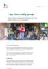 7 tips til en ryddig garasje