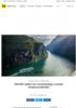 700.000 i gebyr for svovelutslipp i norske verdensarvfjorder