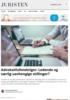 Advokatfullmektiger: Ledende og særlig uavhengige stillinger?