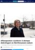 Aftenposten vurderer å dempe dekningen av Bertheussen-saken