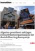 Algeries president anklager pressefrihetsorganisasjon for destabiliseringskampanje