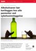 Alkoholvaner bør kartlegges hos alle pasienter ved sykehusinnleggelse