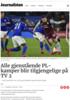 Alle gjenstående PL-kamper blir tilgjengelige på TV 2