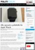 Alle operative politifolk får Apple Watch
