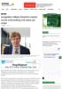 Analytiker Håkan Ekström mener norsk treforedling må satse på nisjer
