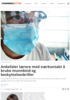 Anbefaler lærere med nærkontakt å bruke munnbind og beskyttelsesbriller