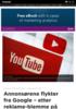 Annonsørene flykter fra Google - etter reklame-blemme på Youtube
