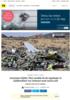 Anonyme kilder: FAA snudde da de oppdaget at ulykkesflyet var trimmet med snuta ned