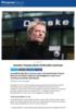 Ansatte i Danske Bank innforstått med kutt
