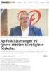 Ap-folk i Stavanger vil fjerne støtten til religiøse friskoler