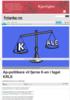 Ap-politikere vil fjerne K-en i faget KRLE