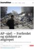 AP-sjef: - Forferdet og sjokkert av angrepet