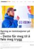 Åpning av teststasjoner på UiO: - Dette får meg til å føle meg trygg