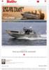 Arbeidsbåter Rask og velkjørende arbeidsbåt