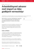 Arbeidstilsynet advarer mot import av ikke-godkjent verneutstyr