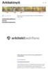 Arkitektbedriftene: Nyeste bransjetermometer