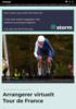 Arrangerer virtuelt Tour de France