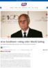 Arve Sundheim i viktig rolle i World Sailing