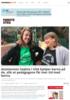 Assistenten Sophia i USA hjelper barna på do, slik at pedagogene får mer tid med barna