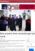 Åtte prosent skrev avhandlingen på norsk
