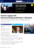 Audun Lågøyr blir kommunikasjonsdirektør i Skanska